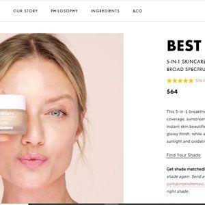 Iris & Romeo Best Skin Days Dewy Coverage   Fair